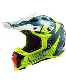 LS2 Subverter EVO Astro Helmet Cobalt/Hi Viz Yellow