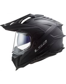 LS2 Explorer Helmet Matte Black