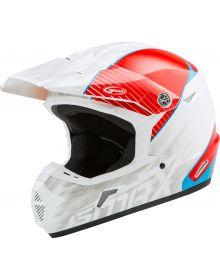GMax MX-46 Colfax Helmet White/Red/Blue
