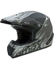 GMax MX-46 Colfax Helmet Matte Black/Silver