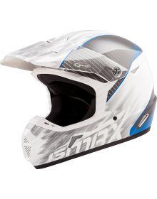 GMax MX-46 Colfax Helmet White/Blue