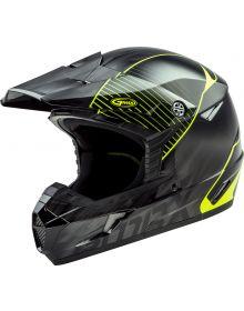 GMax MX-46 Colfax Helmet Black/Hi-Vis Yellow