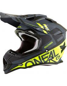 O'Neal 2020 2 Series Helmet Spyde Black/Hi-Viz