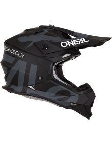 O'Neal 2 Series Slick Helmet Black/Gray