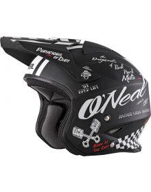 O'Neal Slat Trial Torment Helmet Black/White