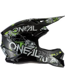 O'Neal 2020 3Series Helmet Attack 2.0 Black/Yellow