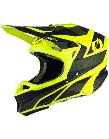 O'Neal 2021 10 Series Compact Helmet Black/Neon