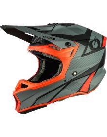 O'Neal 2021 10 Series Compact Helmet Gray/Red