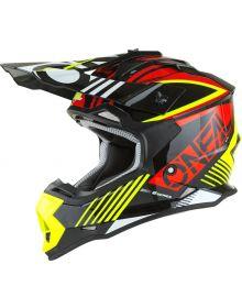 O'Neal 2022 2 Series Rush Helmet Red/Neon Yellow
