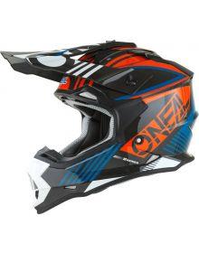 O'Neal 2022 2 Series Rush Helmet Orange/Blue