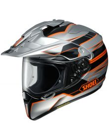 Shoei Hornet X2 Helmet Navigate Orange/Silver