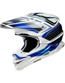 Shoei VFX EVO Pinnacle Helmet White/Blue