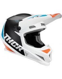 Thor 2020 Sector Blade Helmet White/Aqua