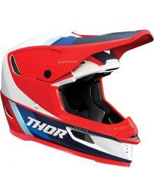Thor 2021 Reflex Apex Helmet Red/White/Blue