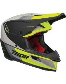 Thor 2021 Reflex Apex Helmet Acid/Gray