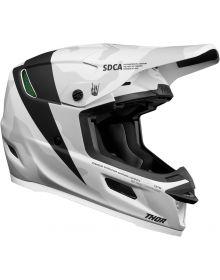 Thor 2021 Reflex Cast Helmet White/Black