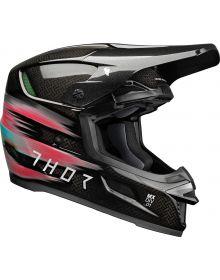 Thor 2022 Reflex Carbon Theory Helmet Multi