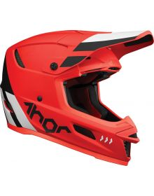 Thor 2022 Reflex Cube Helmet Red/Black