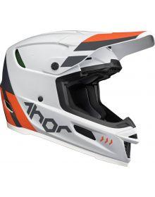 Thor 2022 Reflex Cube Helmet Gray/Orange