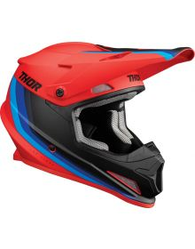 Thor 2022 Sector Mips Runner Helmet Red/Blue