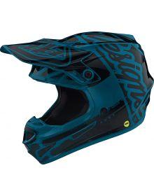 Troy Lee Designs 2019.1 SE4 Polyacrylite Helmet Factory Ocean
