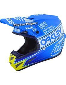 Troy Lee Designs SE4 Composite Helmet Adidas Team Edition 2 Ocean