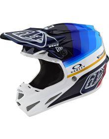 Troy Lee Designs SE4 Carbon Helmet Mirage Navy/White