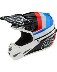 Troy Lee Designs SE4 Composite Helmet Mirage White/Black