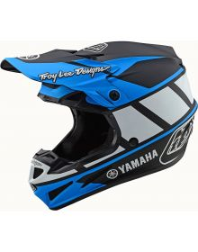 Troy Lee Designs SE4 MIPS Composite Helmet Yamaha Black