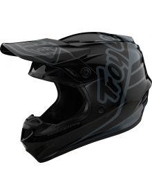 Troy Lee Designs GP Helmet Silhouette Black/Gray