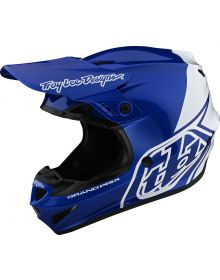 Troy Lee Designs GP Helmet Block Blue/White