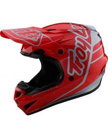 Troy Lee Designs GP Helmet Silhouette Red/Silver