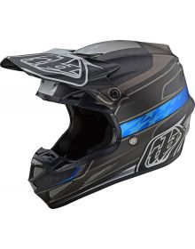 Troy Lee Designs SE4 Carbon Helmet Speed Black/Gray