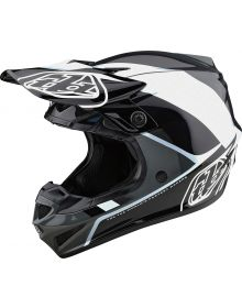 Troy Lee Designs SE4 Polyacrylite Helmet Beta Silver