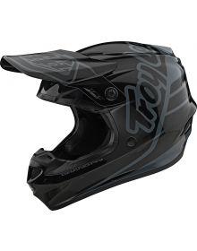 Troy Lee Designs GP Youth Helmet Silhouette Black/Gray