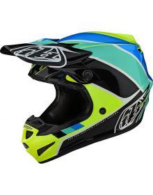 Troy Lee Designs SE4 Polyacrylite Youth Helmet Beta Yellow/Black