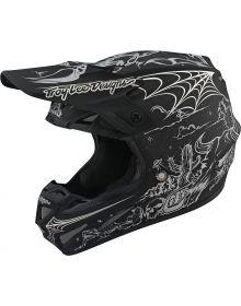 Troy Lee Designs SE4 Carbon Helmet LTD Stranded Matte Black