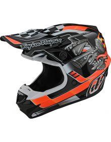 Troy Lee Designs SE4 Polyacrylite Helmet Carb Black