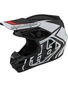 Troy Lee Designs GP Helmet Overload Black/White
