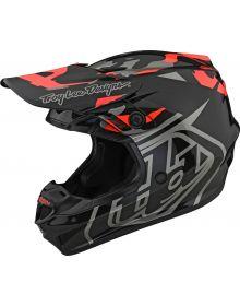 Troy Lee Designs GP Helmet Overload Camo Black/Rocket Red