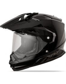 Fly Racing Trekker Helmet Black