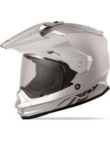 Fly Racing Trekker Helmet Silver