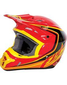 Fly Racing 2016 Kinetic Full Speed Helmet Red/Black/Yellow