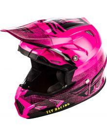 Fly Racing 2019 Toxin Mips Emargo Helmet Pink/Black