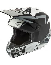 Fly Racing 2019 Elite Vigilant Helmet Matte Black/Grey