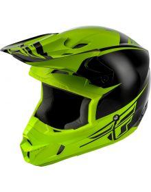 Fly Racing 2019 Kinetic Sharp Helmet Black/Hi-Vis Yellow
