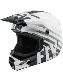Fly Racing 2020 Kinetic Thrive Helmet White/Black/Grey