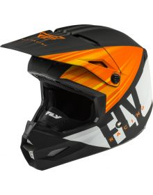 Fly Racing 2020 Kinetic Cold Weather Helmet Matte Orange/Black/White
