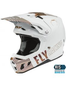 Fly Racing 2021 Formula CC Primary LE Helmet White/Copper