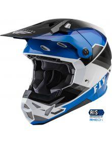 Fly Racing 2022 Formula CP Rush Helmet Black/Blue/White